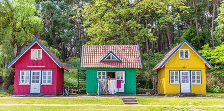 Trehus i Litauen.