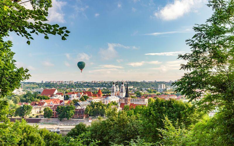Kaunas i Litauen.