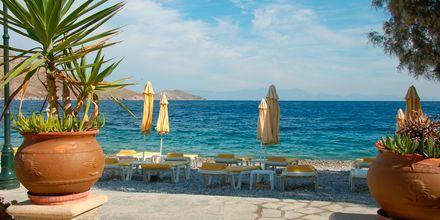 Stranden ved Livadia Beach på Tilos