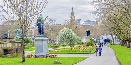 Sain John Garden i Liverpool, England.