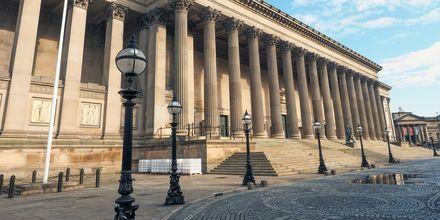St. George Hall, en kjent arkitektonisk perle i Liverpool.