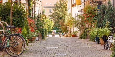 Hyggelige Ljubljana, fylt med koselige kvartaler.