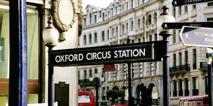 Oxford Circus i London