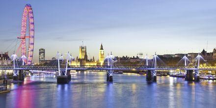 London fra Themsen