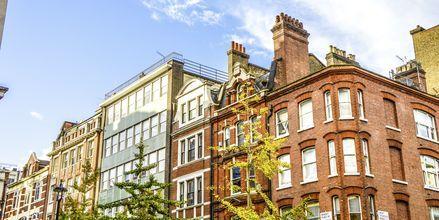 Oxford street, en av verdens mest berømte shoppinggater