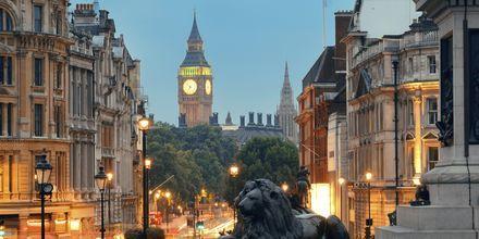 Skumring over London City
