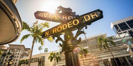 Rodeo Drive er en kjent gate i Beverly Hills i Los Angeles.