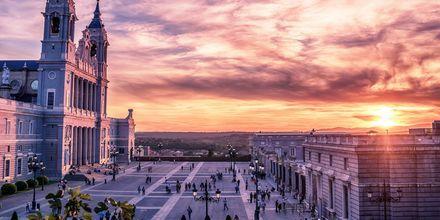 En av de mest vakre severdighetene i Madrid er Catedral de la Almudena – en romersk-katolsk katedral.