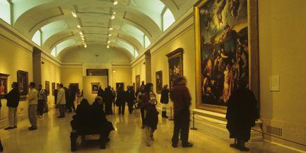 Prado-museet i Madrid har en av verdens fremste kunstsamlinger av eldre kunst.