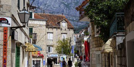 Makarska er rik på historie og dateres tilbake til Romerriket