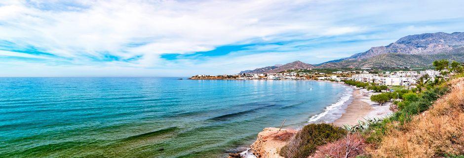Strand i Makrigialos
