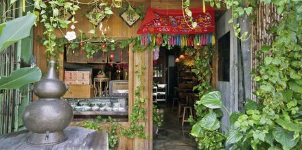 Lokal restaurant i George Town, Penang. Denne byen er berømt for sin prisvinnende gatemat!