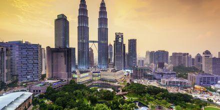 Petronas Twin-Towers i Kuala Lumpur, Malaysia.