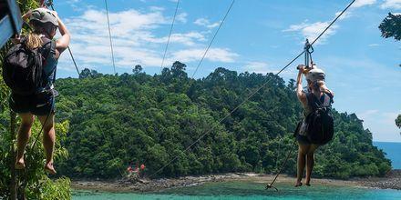 I Malaysia er det mye å se og gjøre. Hva med å utfordre deg selv i en Zipline?
