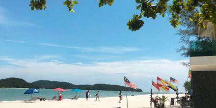 Vannsportsaktiviteter på Cenang Beach, Langkawi.