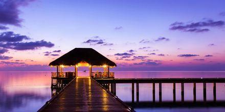Du bør se opp for fabelaktige solnedganger på Maldivene!