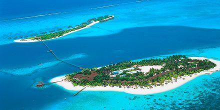 På Maldivene er det ofte kun et hotell som har en hel øy til sin disposisjon.