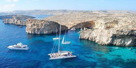 Vakre Malta tilbyr en heftig natur, knallblått hav og rik historie.