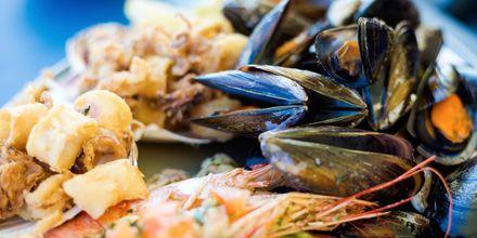 I løpet av ferien på Malta bør du teste fisk- og skaldyr – noe malteserne er meget dyktige på.