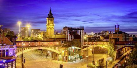 Koselige Manchester passer perfekt for både shopping og fotball.