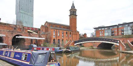 Kanalen i Castlefield, Manchester