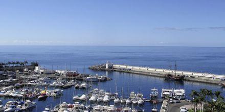 Utsikt mot havnen