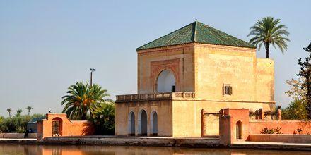Menaraparken i Marrakech i Marokko