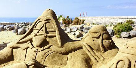 Sandskulpturer