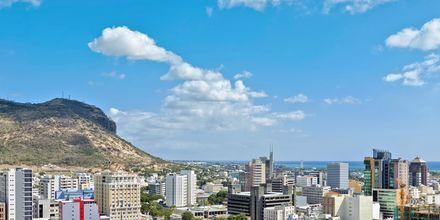 Hovedstaden Port Louis på Mauritius.