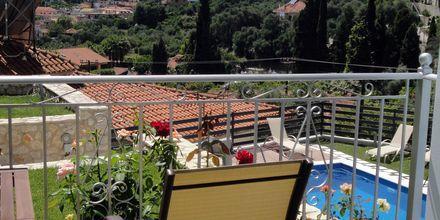 Utsikt fra balkongen