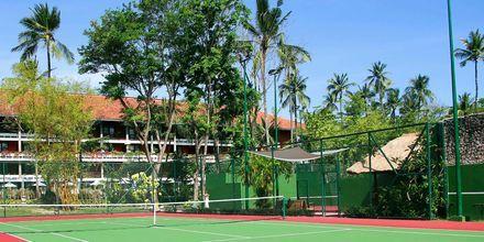 Tennisbane på hotellet