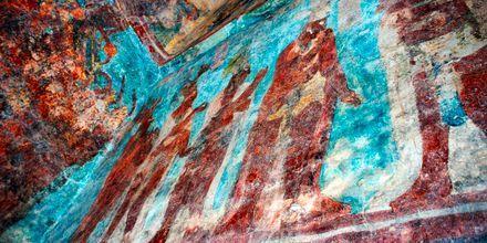 Veggmalerier fra Maya-tiden