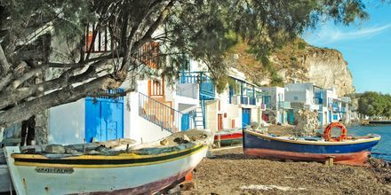 Landsbyen Klima på Milos