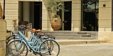 Sykler på hotellet