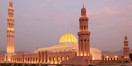 Den store moskeen i Muscat