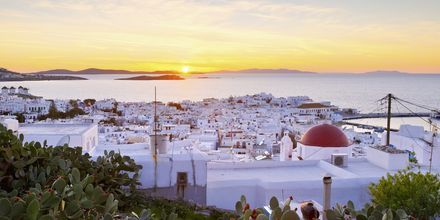 Mykonos by, Hellas.