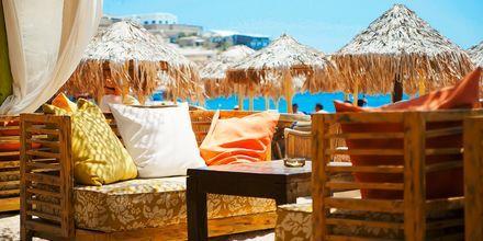 Elia Beach på Mykonos, Hellas