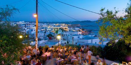 Naxos by i kveldslys