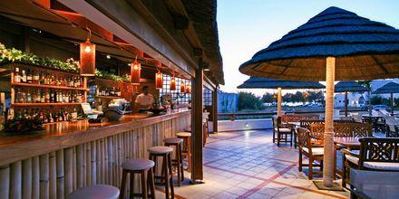 Bassengområdet og poolbaren – Naxos Resort på Naxos
