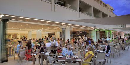 Restauranten på hotell Nelia Beach i Ayia Napa, Kypros.
