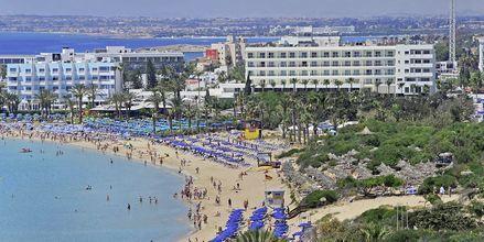 Nelia Beach på hotell Nelia Beach i Ayia Napa, Kypros.