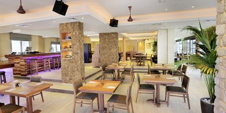 Restauranten på hotell Nelia Garden, Ayia Napa, Kypros