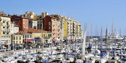 Småbåthavna i Nice