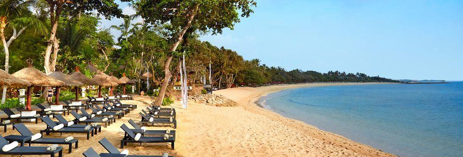 Stranden ved Melia Bali Villas & Spa