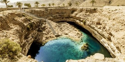 Fantastiske naturformasjoner i Oman
