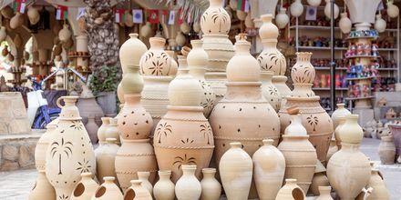 Vakker keramikk fra Oman