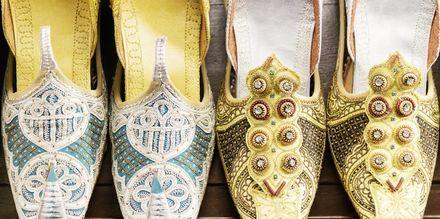 Tradisjonelle sandaler i Oman