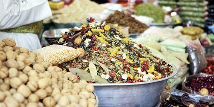 God og sunn mat i Oman