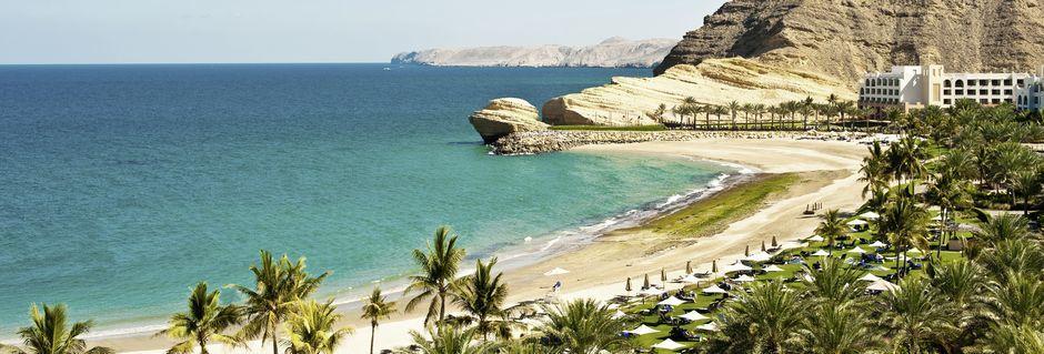 Omans vakre kyst