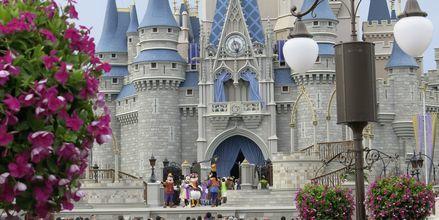 Magic Kingdom i Orlando, Florida, USA